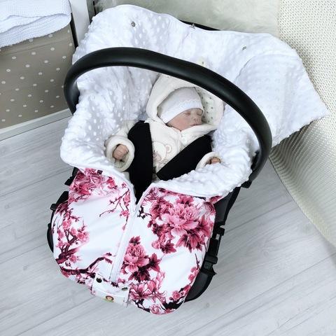 СуперМамкет. Конверт-одеяло всесезонное Мультикокон ®, сакура розовый