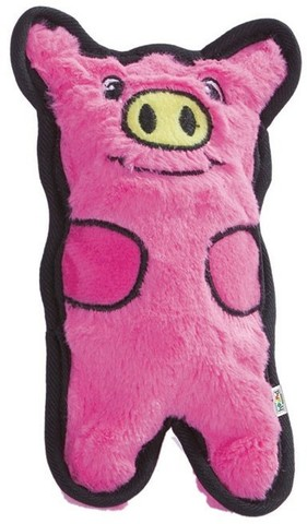 PETSTAGES OH INVINCIBLES MINI PIGGY WITHOUT FILLER WITH SQUEAKERS