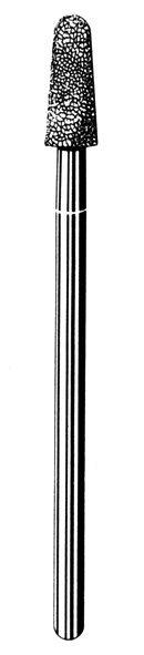 Лабораторные алмазные инструменты «SS WHITE» серия LAB 213/4040 Группа III. Средняя крошка.