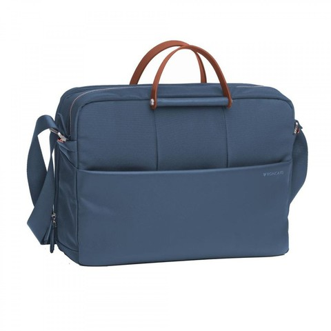 Сумка Roncato Wireless LAPTOP BAG 2 comp. Blue denim