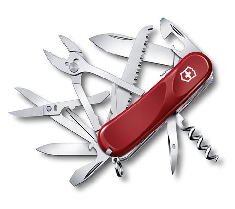 Нож Victorinox Evolution S52, 85 мм, 20 функций, красный123
