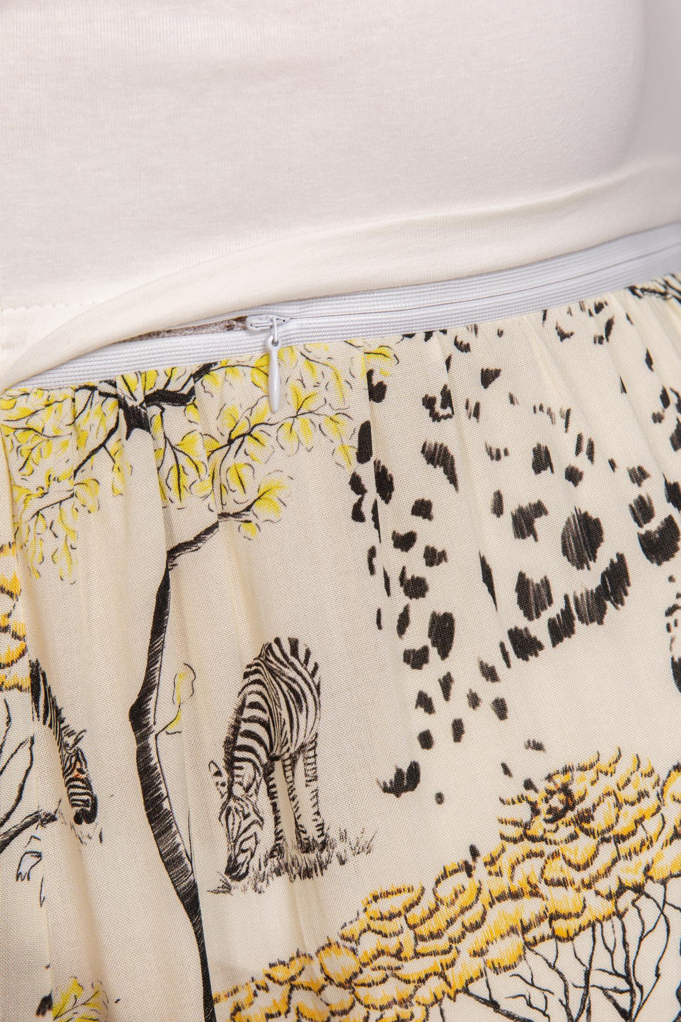 Фото платье для беременных и кормящих MAMA`S FANTASY от магазина СкороМама, белый, размеры.