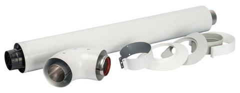 Комплект коаксиальный Stout DN Ø60/100 мм - 850 мм. (VL/PT) SCA-6010-230850
