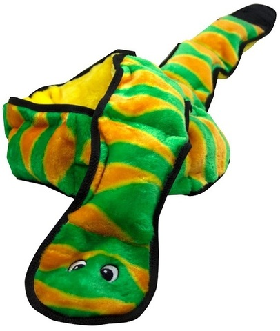 PETSTAGES OH INVINCIBLES XXL SNAKE 12 SQUEAKERS
