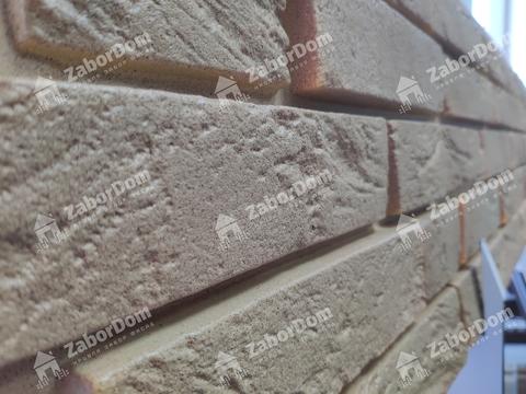 Фасадная панель Гранд Лайн Я-ФАСАД Кирпич Янтарь 1495х339 мм
