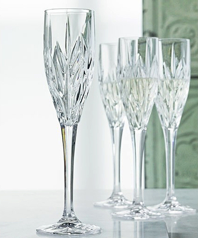 Набор из 4 хрустальных фужеров для шампанского IMPERIAL, 140 мл imperial plus набор фужеров 6шт вино 315мл 4 64 pasabahce 4 1063139