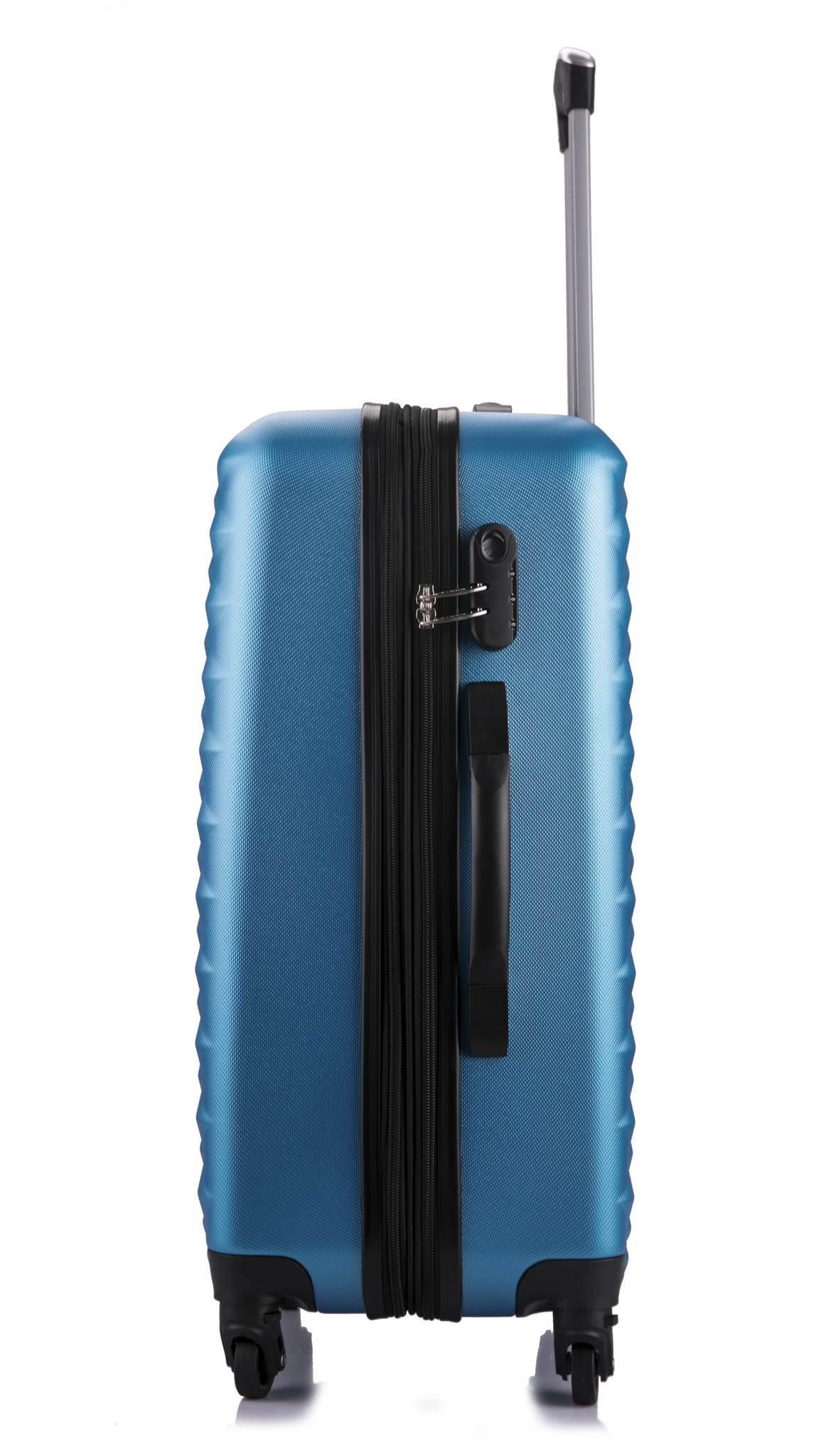Чемодан с расширением L'case Phatthaya-20 Синий ручная кладь (S)