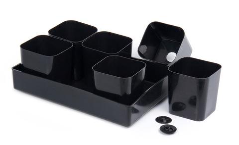 Набор для рассады (поддон, 6 стаканов, 6 донышек-вкладышей) ПИ-3ТХуп