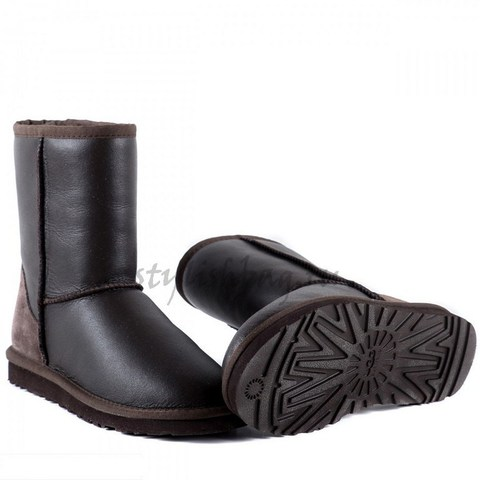 Женские угги UGG Women's Short Metallic Chocolate