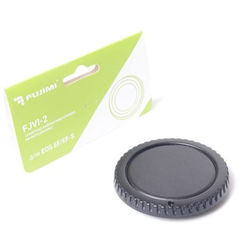 Защитная байонетная крышка Fujimi FJVI-2 на фотоаппарат Canon EF/EF-S