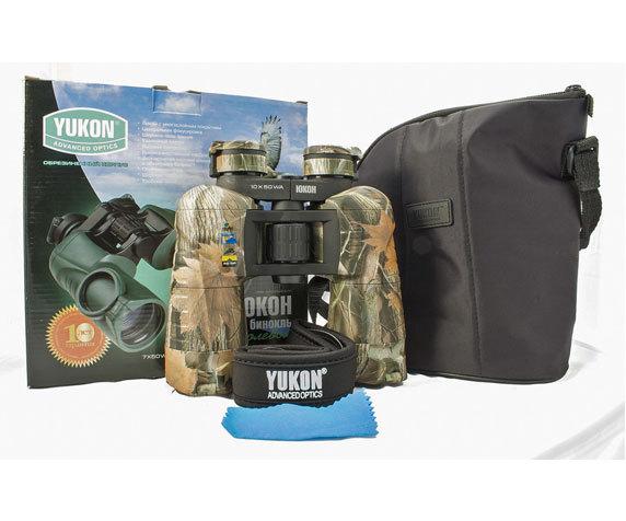 Комплект поставки Yukon 10x 50 Woodworth