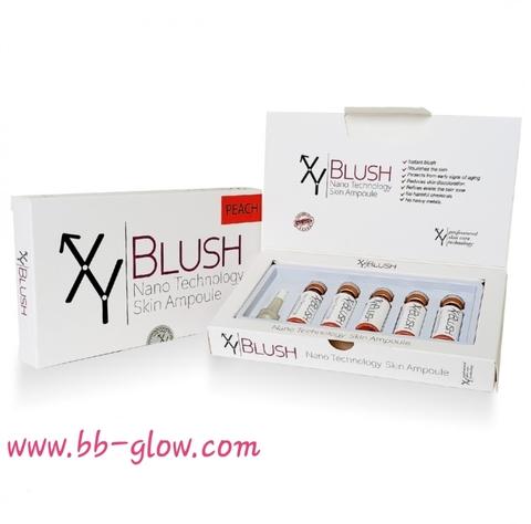 Сыворотка для румян XY BLUSH Peach 1 коробка 5 ампул по 5 мл.