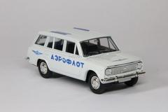 VAZ-2102 Lada Aeroflot white Agat Mossar Tantal 1:43