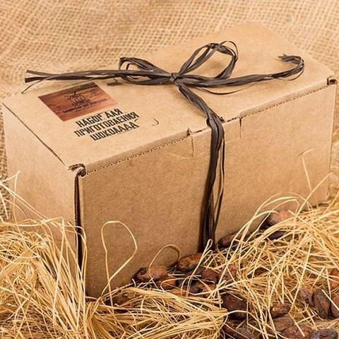 Подарочный набор для приготовления шоколада Шоколатье