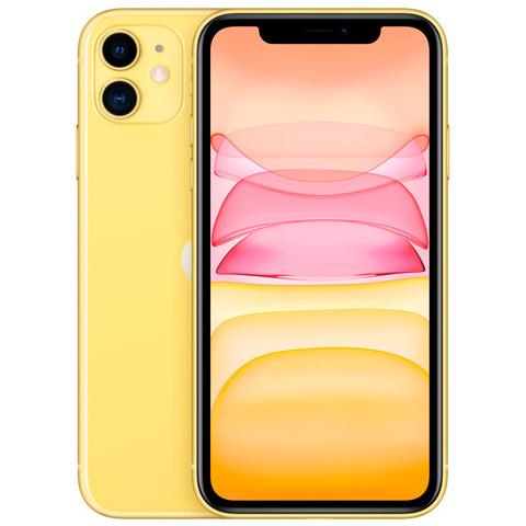 iPhone 11, 64 ГБ, желтый