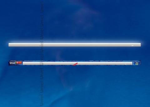 ULI-L02-10W-4200K-SL Светильник линейный светодиодный (аналог Т5). Белый свет(4200K). 900Lm. Выключатель на корпусе. Серебристый. TM Uniel.