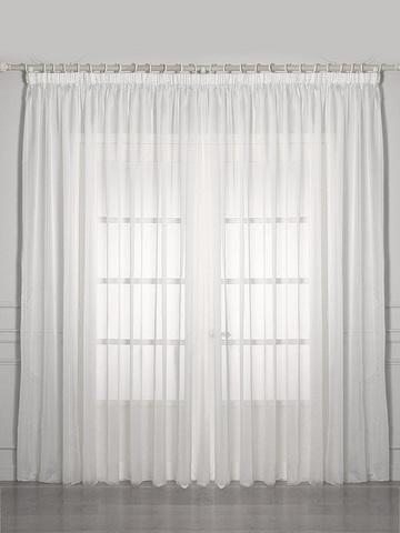 Готовая вуаль Престиж белый шириной от 3 до 9 м