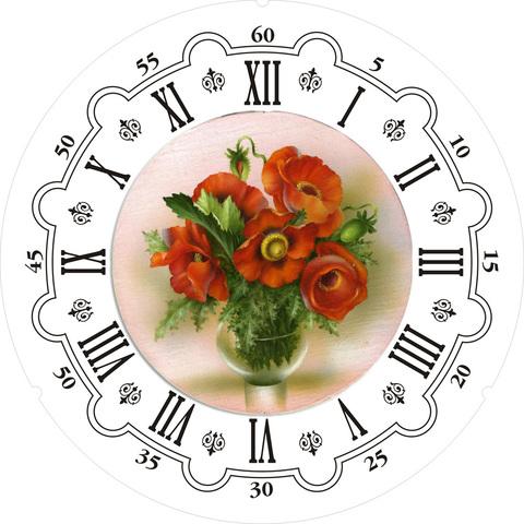017-6803 Набор для творчества - декупаж с нуля Часы
