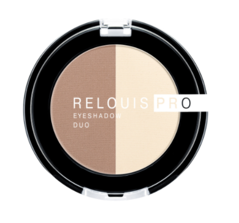 RELOUIS Тени Pro Eyeshadow DUO двойные тон 102