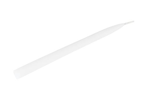 Свеча коническая 240 х 19 мм парафиновая, цвет: белая