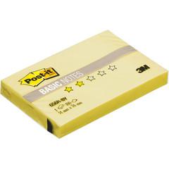 Стикеры Post-it Basic 656R-BY, канареечный желт 51х76 мм,100 л.