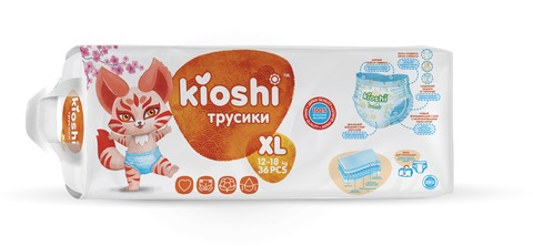 Трусики Kioshi,  12-18 кг (XL)