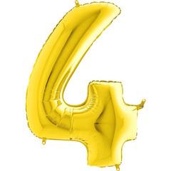 Цифра 4 (Золотая)