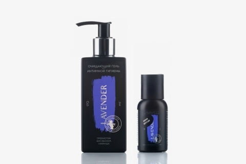 МОМ Lavender для интимной гигиены гель очищающий пребиотик бисаболол лаванда 170мл