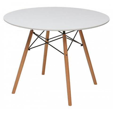Стол SNOWDROP D100 Белый / круглый / 100 см