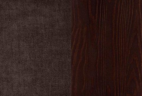 Ткань/Массив, Лофти Кофейный/Венге матовый (укажите в комментарии к заказу)