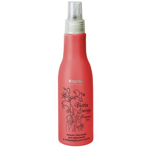 Лосьон с биотином для укрепления и стимуляции роста волос,KAPOUS BIOTIN ENERGY,100 мл