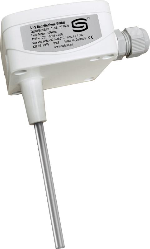 THERMasgard® TF 65 с быстрозаворачиваемыми винтами (IP65) Вид сбоку