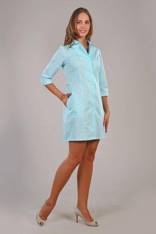 Халат медицинский жен. М-06А ткань Тиси