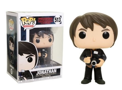 Фигурка Funko POP! Vinyl: Stranger Things: Jonathan w/ Camera 14426
