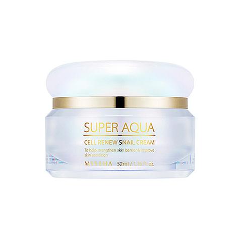 Крем Missha Super Aqua Cell Renew Snail Cream 50 мл