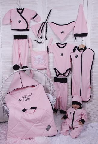 Набор для новорожденного Baby Box 14 предметов (розовый)