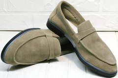 Туфли лоферы женские купить Osso 2668 Beige.