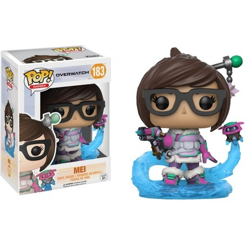 Фигурка Funko POP! Vinyl: Games: Overwatch: Mei Snowball Colour (Exc) 13309