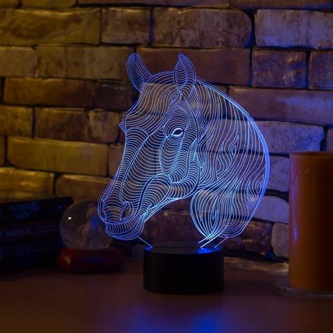 Лампа Лошадь с гривой