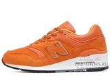 Кроссовки Женские New Balance 997 Orange White