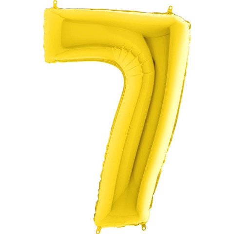 Цифра 7 (Золотая)