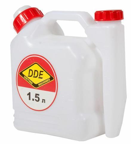 Канистра DDE для топливной смеси 1,5 л. с дозатором