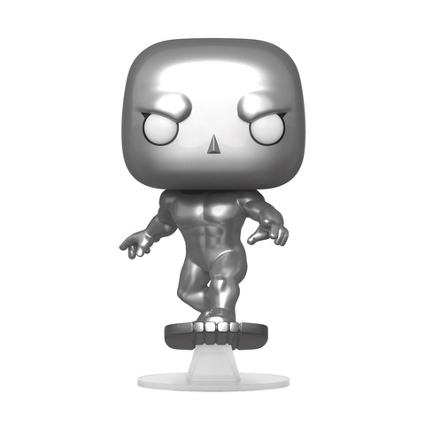 Фигурка Funko POP! Bobble: Marvel: Fantastic Four: Silver Surfer(MT)
