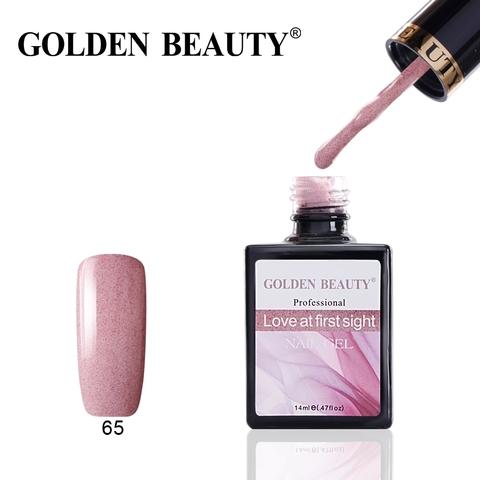 Гель лак Golden Beauty  14 ml, Love