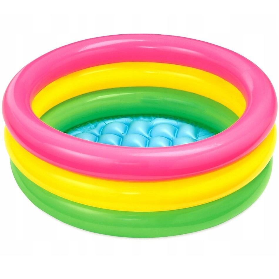 Товары для детей Надувной бассейн для малышей «Радуга» 61х22 бассейн_57107.jpg