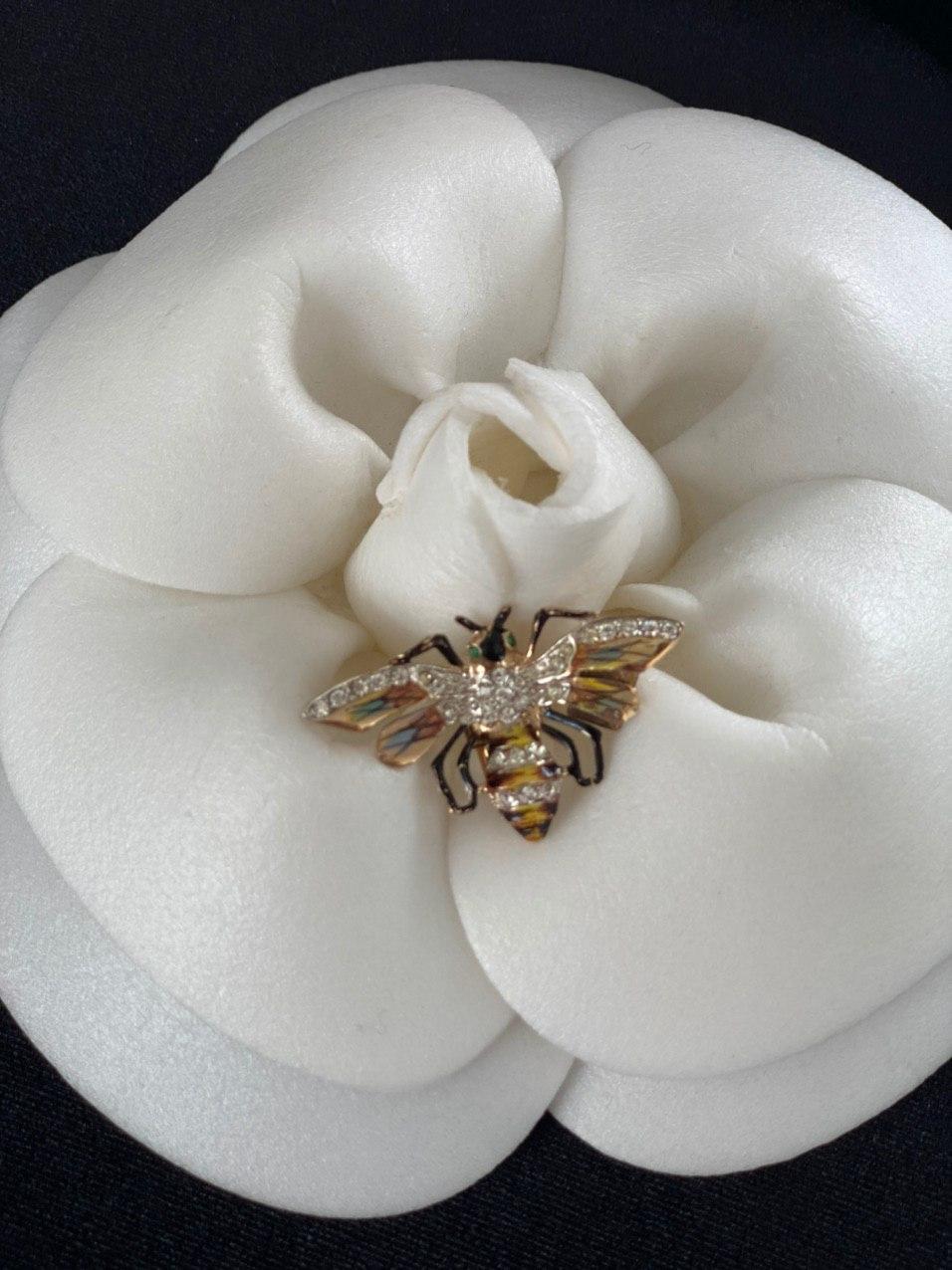 Серебряные коллекционные фур-клипы «Королевские Пчелы» Coro 1942 год, sterling