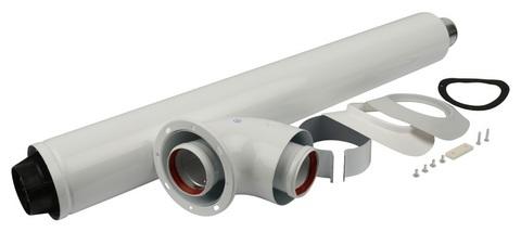 Комплект коаксиальный Stout DN Ø60/100 мм - 850 мм. (BS/BD) SCA-6010-240850