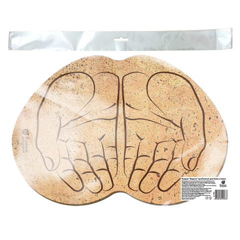 Коврик пробковый «Ладони», 43х30 см
