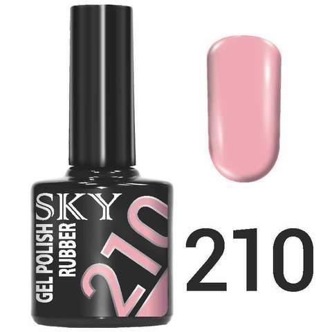 Sky Гель-лак трёхфазный тон №210 10мл