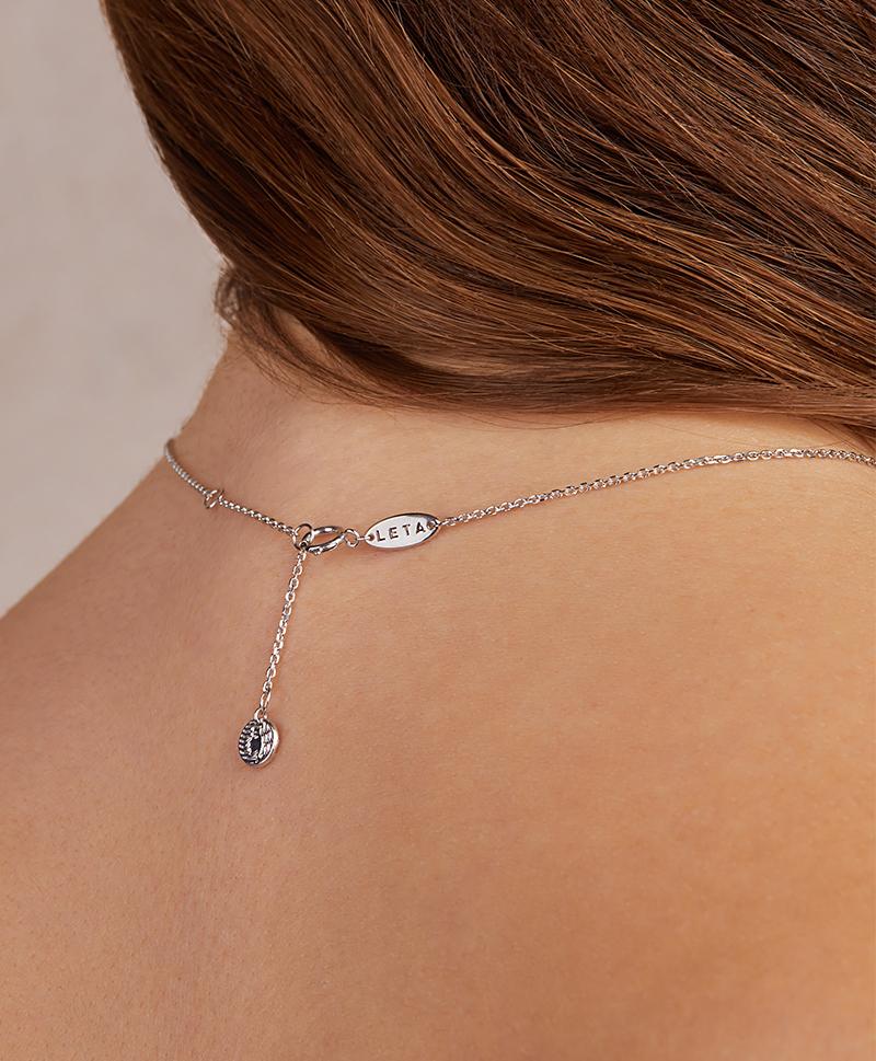 Серебряное колье «Luna»